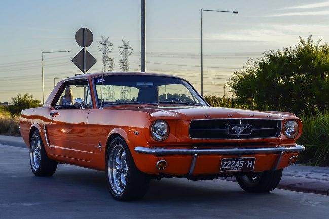 Andrew Follows. 'Ford Mustang 2 door hardtop' 2016