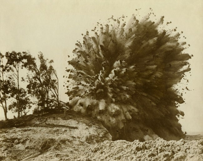 Anonymous (Press Photo) 'Rock and Mud 'Grand Finale',' California, c. 1930