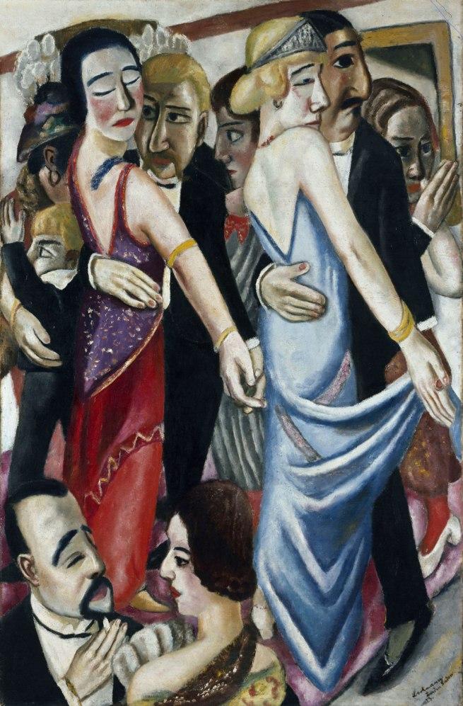 Max Beckmann Dance in Baden-Baden (Tanz in Baden-Baden), 1923
