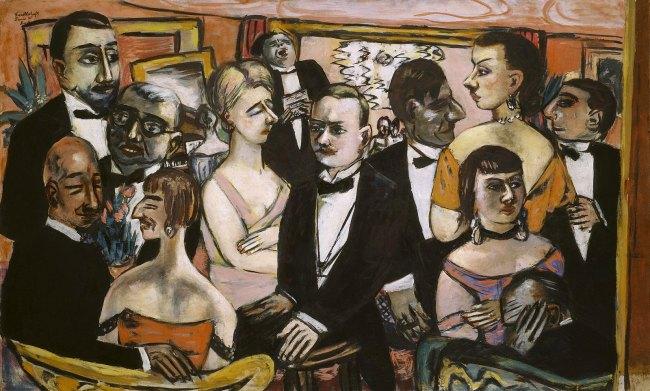 Max Beckmann Paris Society (Gesellschaft Paris), 1931
