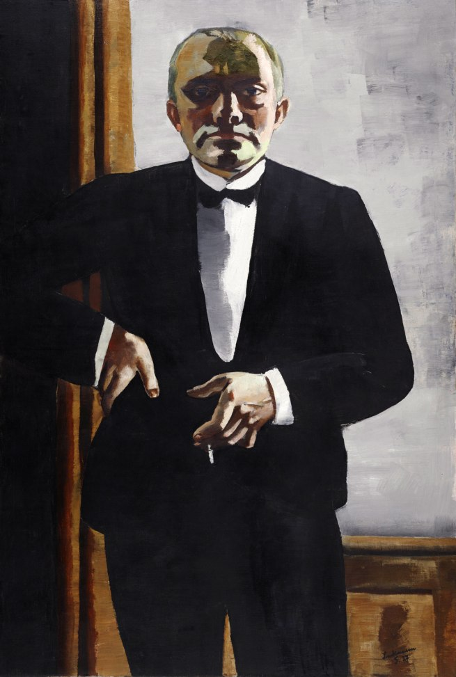 Max Beckmann Self-Portrait in Tuxedo (Selbstbildnis im Smoking), 1927