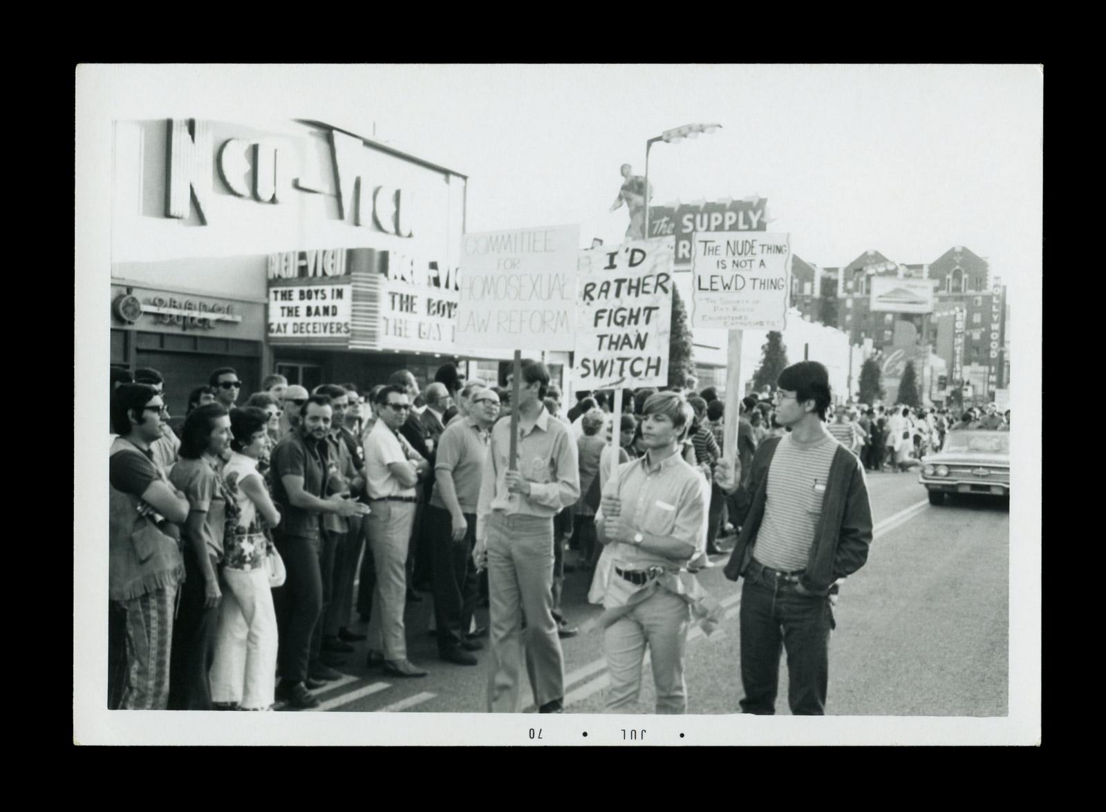 gay pride parades 1970
