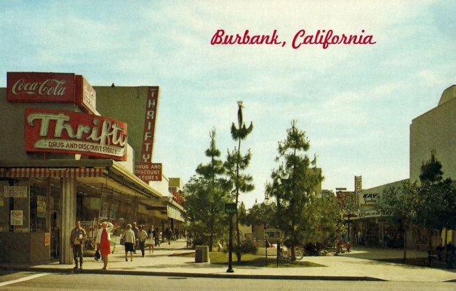 Anonymous photographer. 'Burbank, California' c. 1960-70s