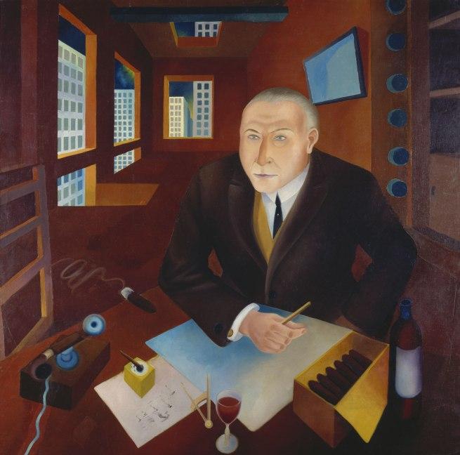 Heinrich Maria Davringhausen The Profiteer (Der Schieber), 1920–21