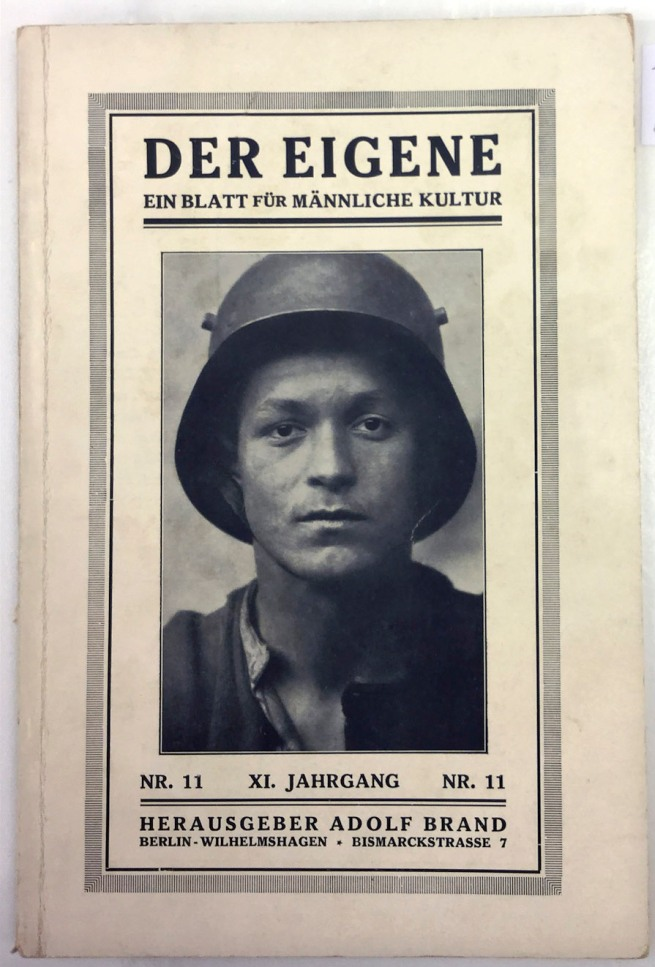 Der Eigene (The Unique), 1925