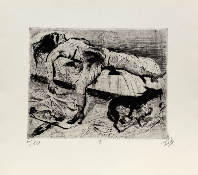 Otto Dix Sex Murder (Lustmord), 1922