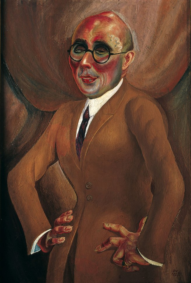 Otto Dix The Jeweller Karl Krall (Der Juwelier Karl Krall), 1923