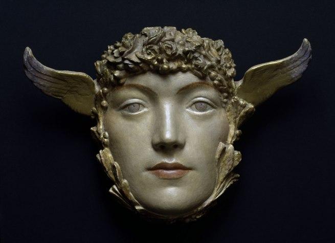 Fernand Khnopff (1858-1921) 'Mask' c. 1897