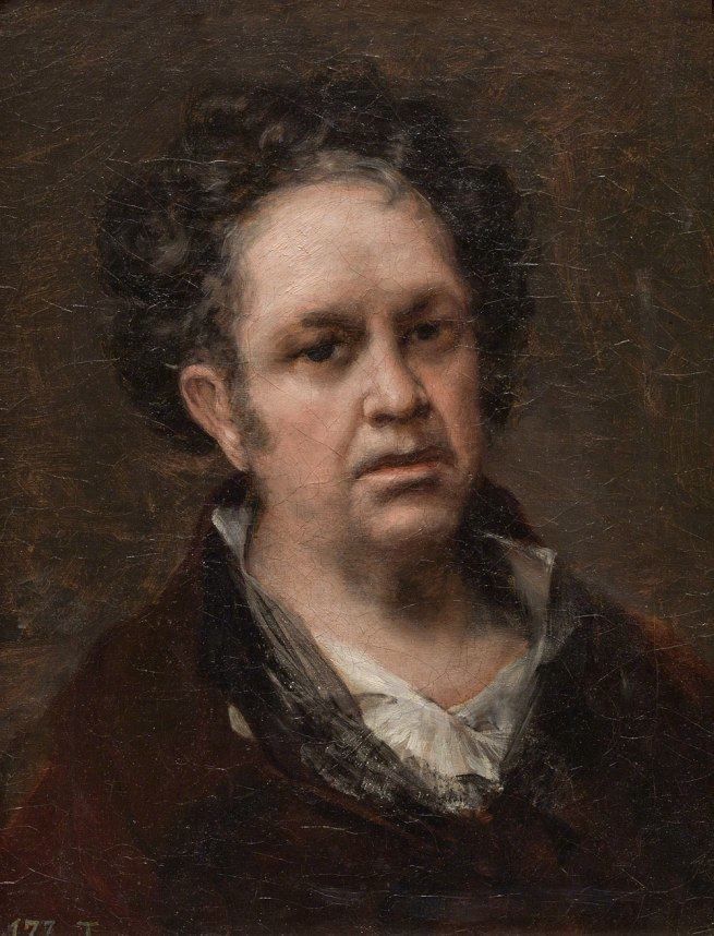 Francisco de Goya. 'Self Portrait' 1815