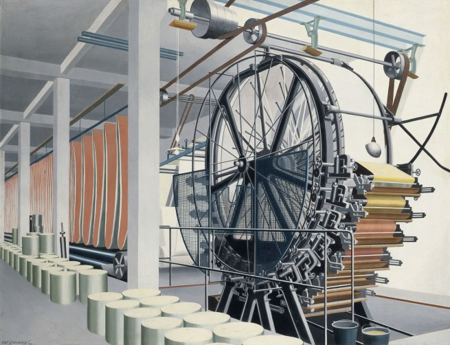 Carl Grossberg The Paper Machine (Die Papiermaschine), 1934