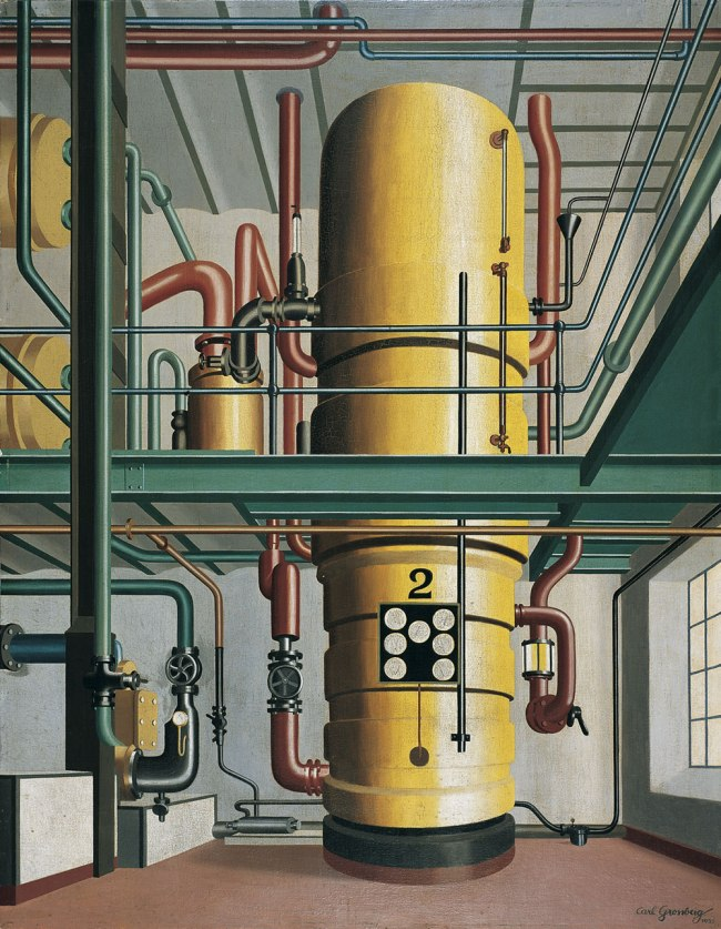 Carl Grossberg The Yellow Boiler (Der Gelbe Kessel), 1933