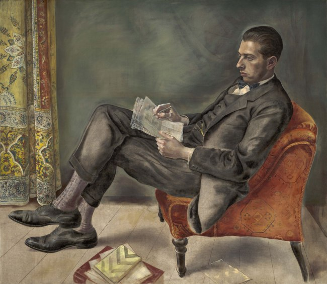 George Grosz Portrait of Dr. Felix J. Weil (Bildnis Dr. Felix J. Weil), 1926