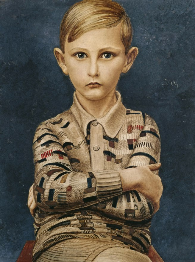 Kurt Günter Portrait of a Boy (Knabenbildnis), 1928