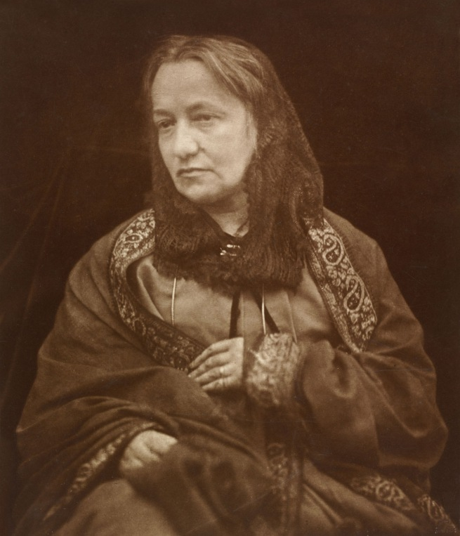 Henry Herschel Hay Cameron. 'Julia Margaret Cameron' c. 1870