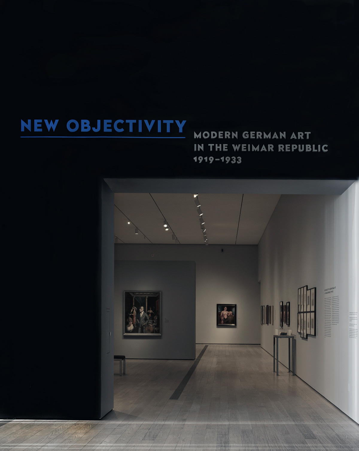 Installation View Of The Exhibition U0027New Objectivity: Modern German Art In  The Weimar Republic
