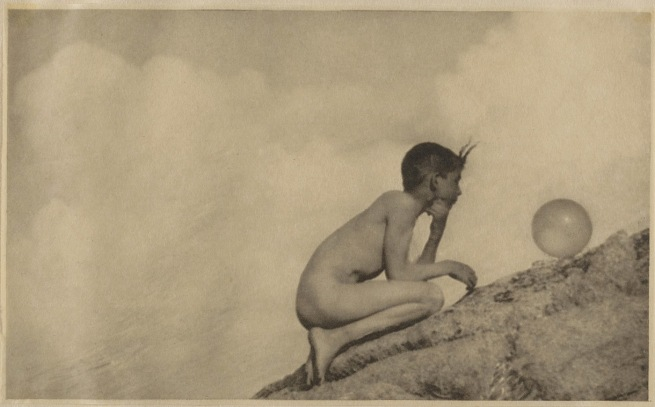 Anne Brigman (1869–1950) 'The Wondrous Globe' 1912