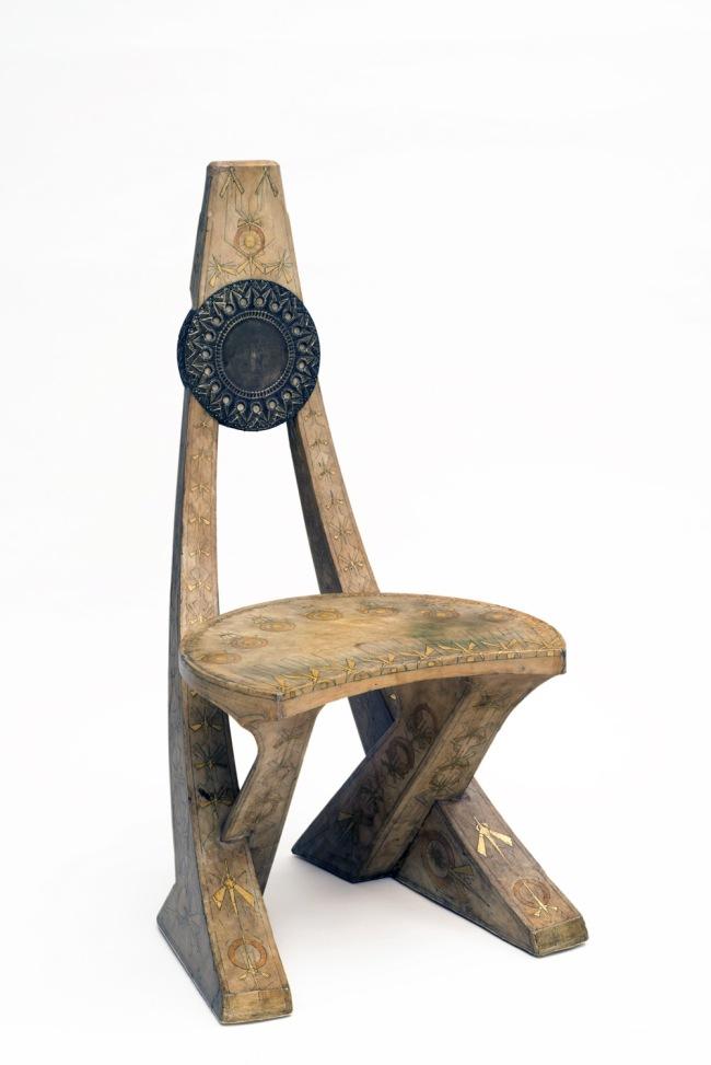 Carlo Bugatti (1856-1940) 'Chair' Milan 1902