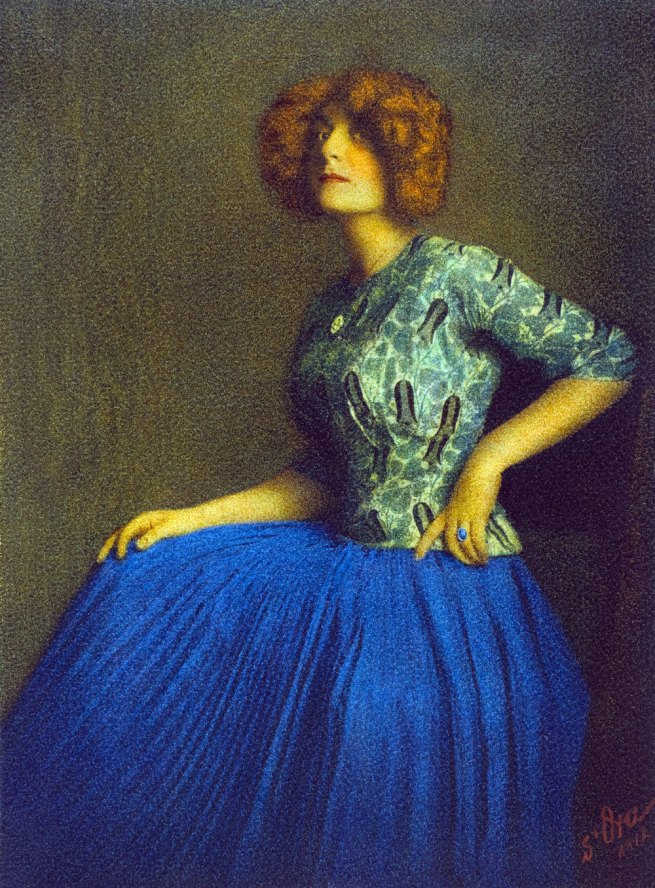 Atelier d'Ora. 'Red Hair' 1911