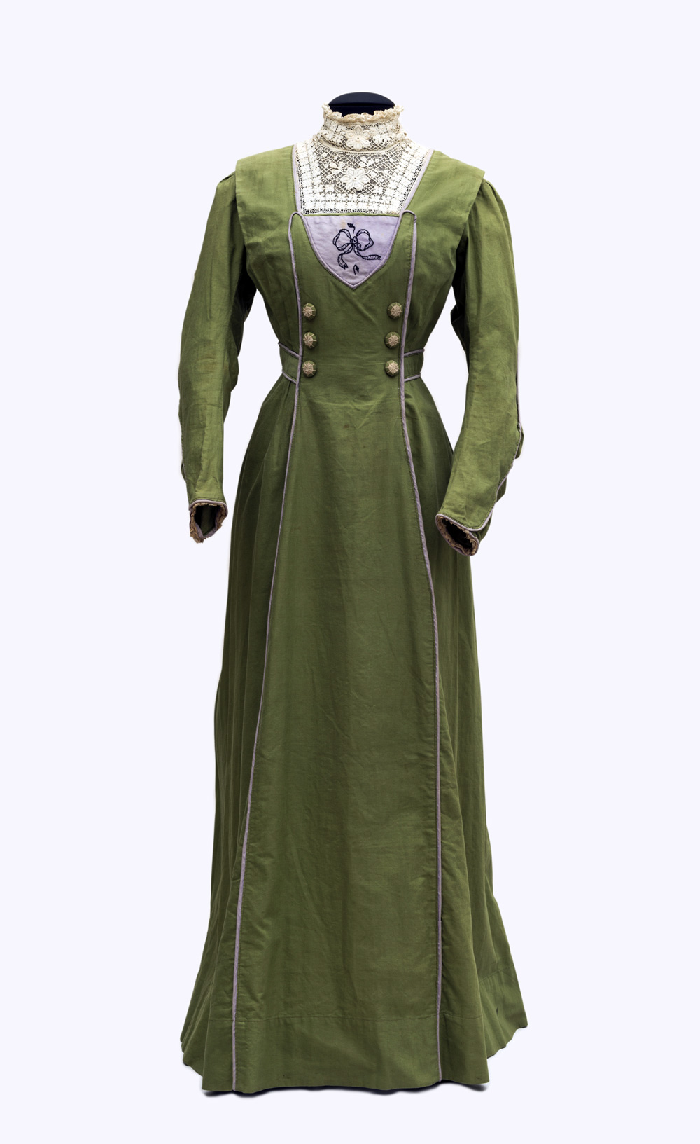 Day Dress Of A Suffragette Sympathizer, England, 1905 09