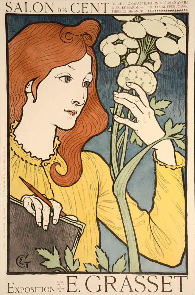Eugène Grasset. 'Exhibition poster for an exhibition at the Salon des Cent' 1894