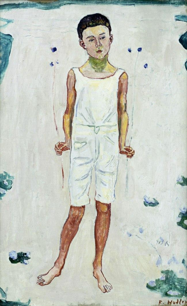 Ferdinand Hodler (1853-1918) 'Childhood' c. 1894