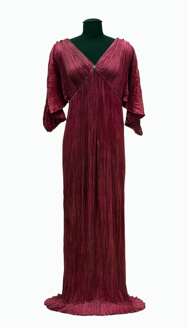 Mariano Fortuny y Madrazo. Lady's dress Delphos, Venice, 1911–13