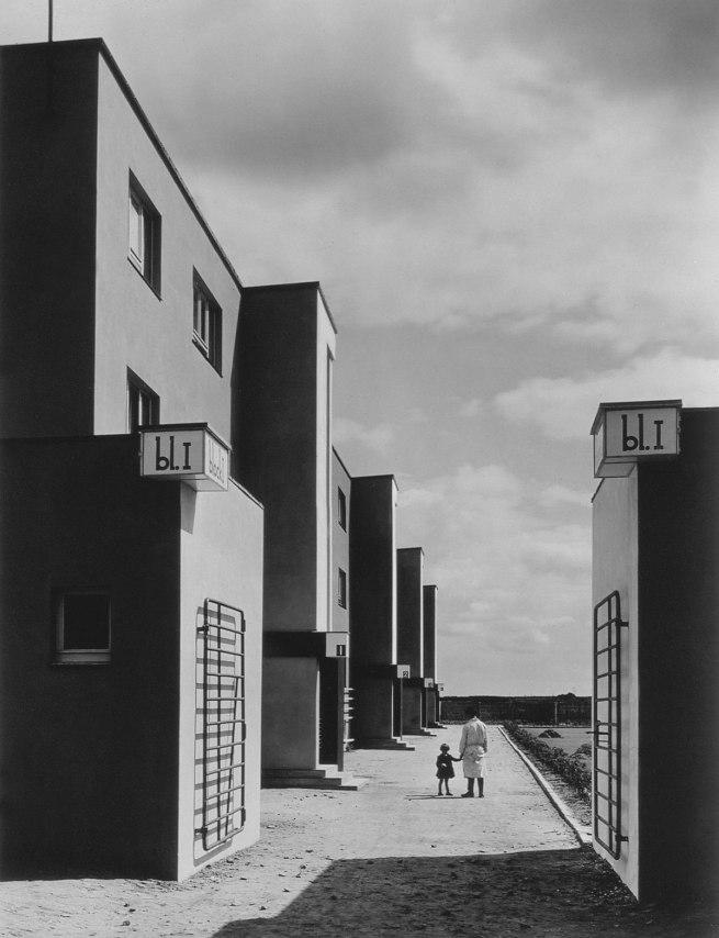 Arthur Köster St. Georgs-Garten Housing Settlement, Architect Otto Haesler (St. Georgs-Garten Siedlung, Architekt Otto Haesler), 1920s