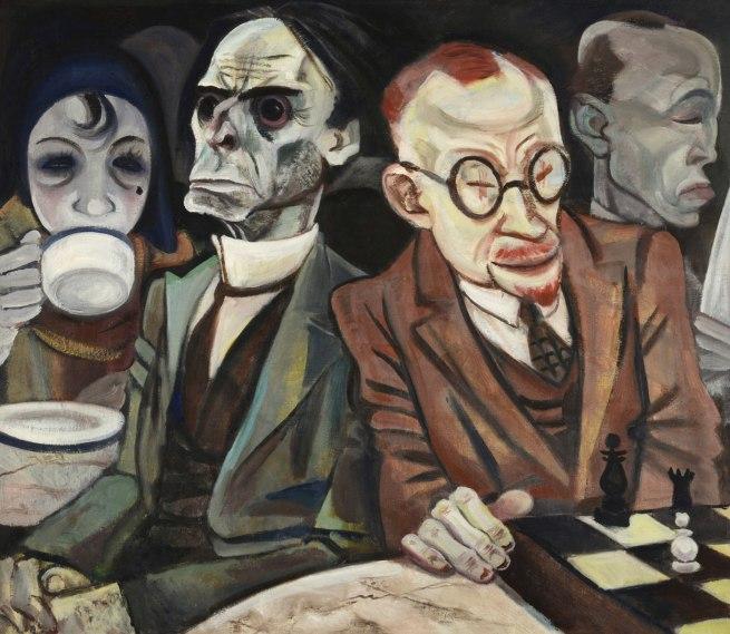 Jeanne Mammen Chess Player (Schachspieler), c. 1929–30
