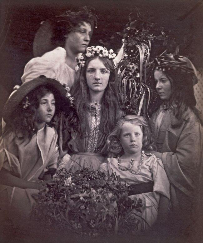 Julia Margaret Cameron. 'May Day' 1866