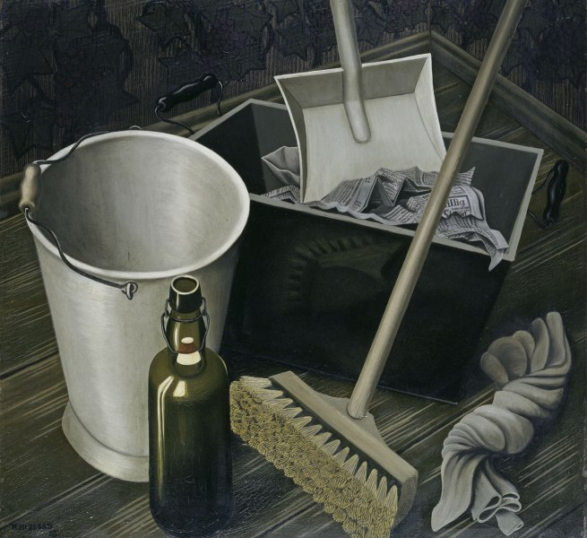 Hans Mertens Still Life with Household Appliances (Stilleben mit Hausgeräten), 1928