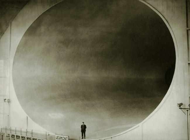 NYT Photo. 'Wind Tunnel in Chalais Meudon' 1935