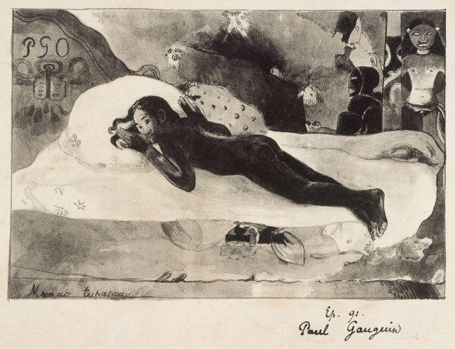 Paul Gauguin (1848-1903) 'Manao Tupapau (The Ghost of the Dead awakens)' 1894