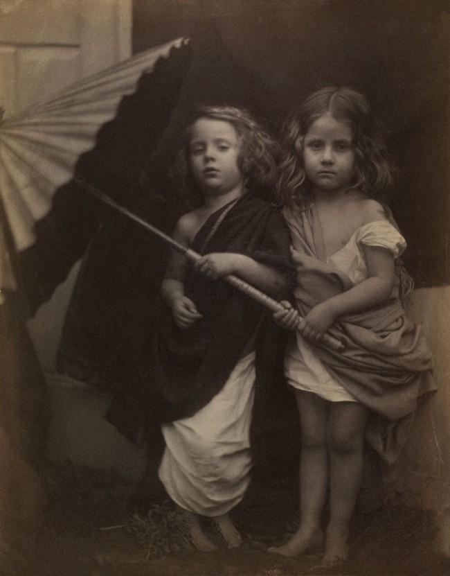 Julia Margaret Cameron. 'Paul and Virginia' 1864