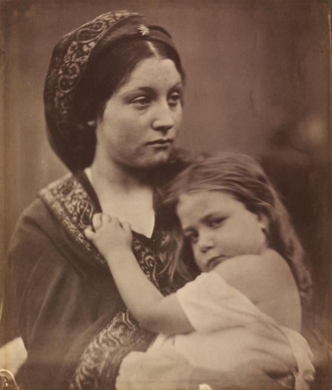 Julia Margaret Cameron. 'Peace' 1864