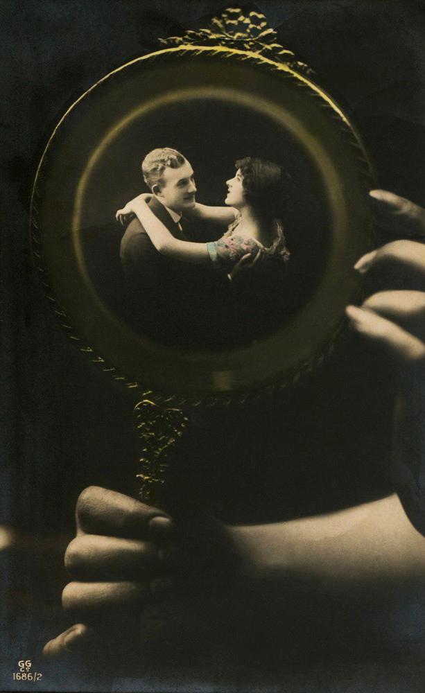 Photomontage, photographic postcard, c. 1920