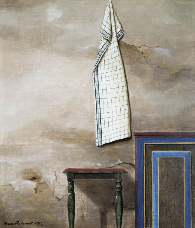 Franz Radziwill The Handtowel (Das Handtuch), 1933