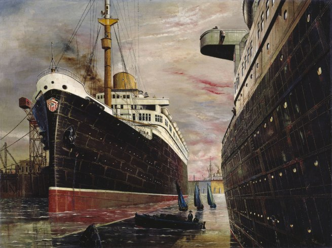 Franz Radziwill The Harbor II (Der Hafen II), 1930