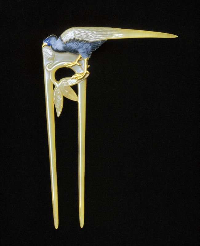 René Lalique (1860-1945) 'Hair comb' 1898-1899