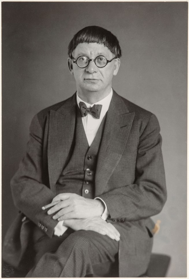 August Sander The Architect (Hans Poelzig) (Der Architekt Hans Poelzig), 1928