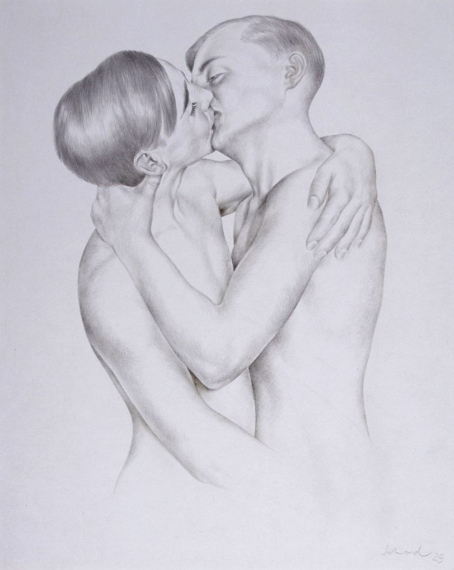 Christian Schad Boys in Love (Liebende Knaben), 1929