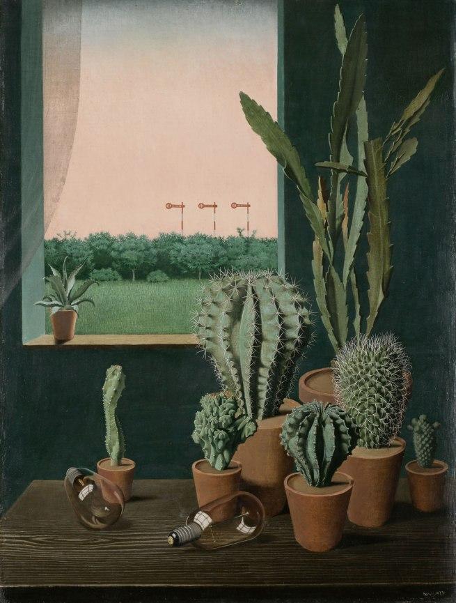 George Scholz Cacti and Semaphore (Kakteen und Semaphore), 1923