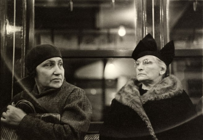 Walker Evans. 'Subway Passengers, New York' 1938