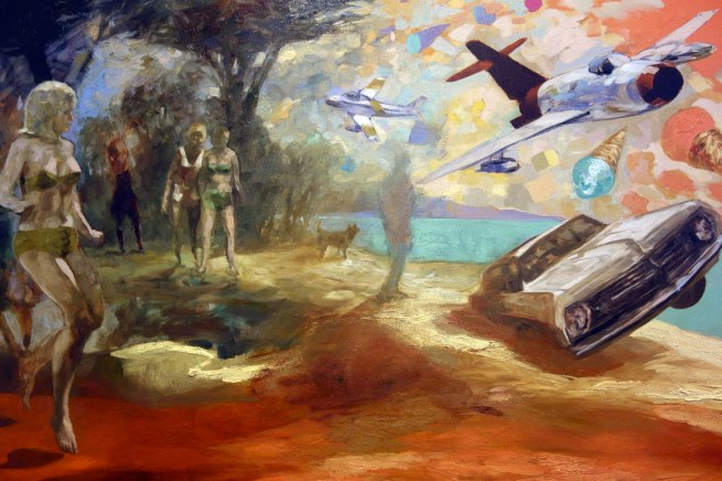 John Anderson (b. 1947) 'Abundance' (detail) 2015