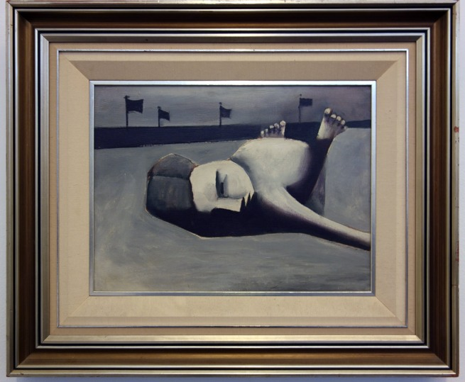 Charles Blackman (b. 1928) 'Sunbather' c. 1954