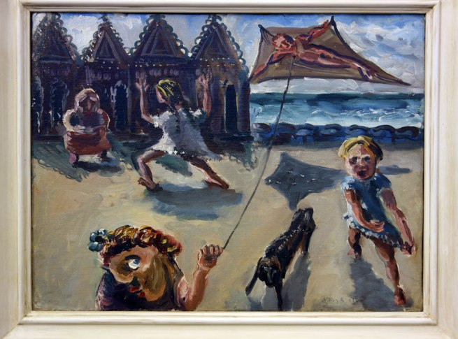 Arthur Boyd (1920-1999) 'Kite flyers [South Melbourne]' 1943