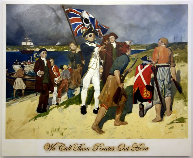 Daniel Boyd (b. 1982) 'We call them pirates out here' 2006