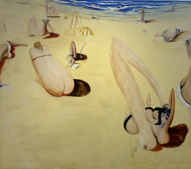 Brett Whiteley (1939-1992) 'Balmoral' 1975-78 (detail)