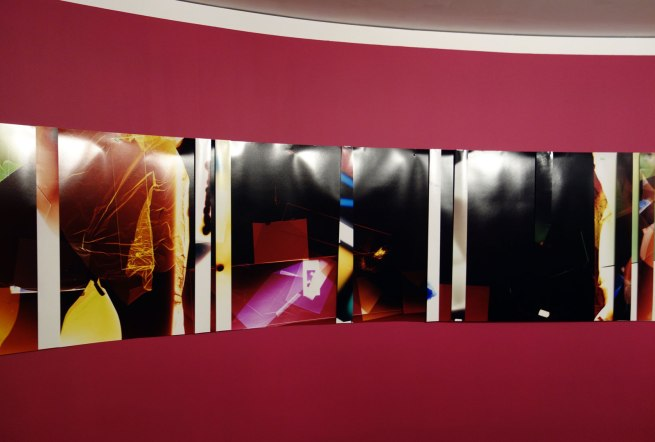 Danica CHAPPELL. 'Light shadow (5 days + 5 hrs in 8 parts + test strips)' 2012–15 (detail)