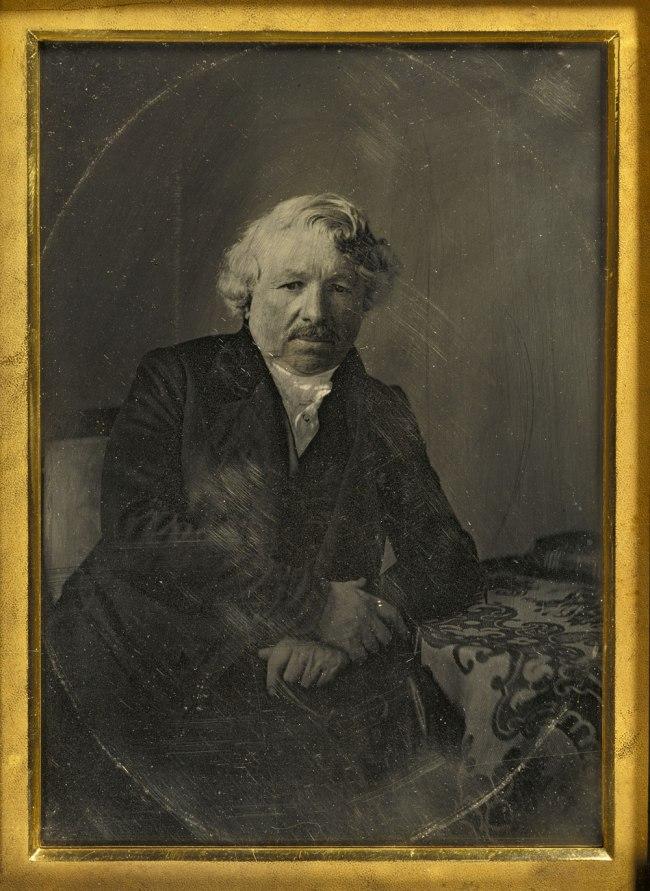 Charles Richard Meade (American, 1826-1858) 'Portrait of Louis-Jacques-Mandé Daguerre' 1848