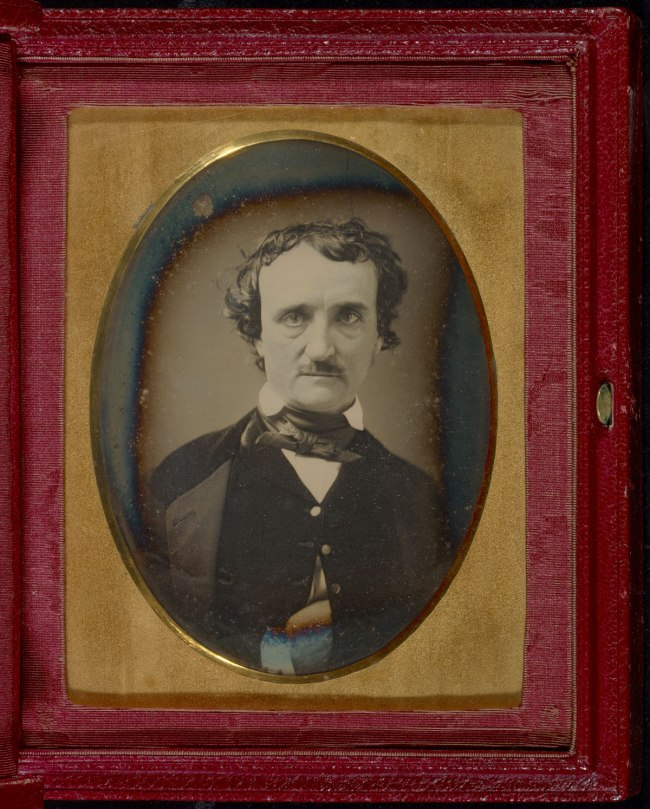 Unknown maker (American) 'Portrait of Edgar Allan Poe' late May - early June 1849